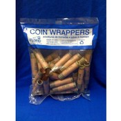 Coin Wrappers - 36 Count Dimes- single bag Wholesale Bulk