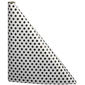 N. F. String & Son, Inc. 300 Black Polka Dot Table Cover Wholesale Bulk