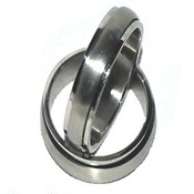 316L Stainless Steel 6mm Smooth Spinner Ring-Size 8
