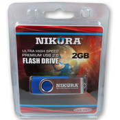 Blue 2GB Flash Drive