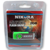 Green 2GB Flash Drive