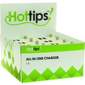 Hottips Tray Pack AIO Charger- 8-count