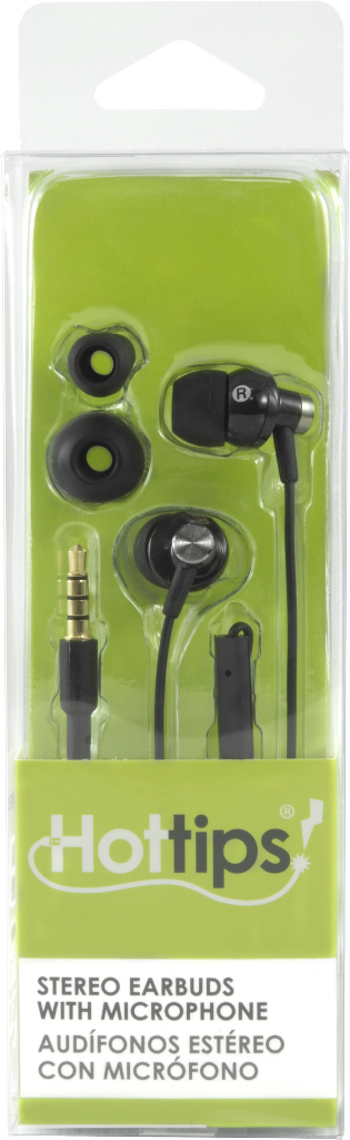 Hottips High Sound Quality Earbuds with Mic- Carton of 4 [1876667]