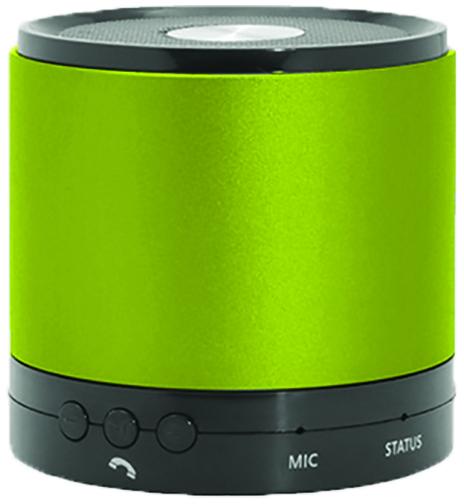 Hottips Portable Bluetooth Speaker Green- Carton of 4 (1876757)