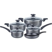 9-Piece Aluminum Cookware Set