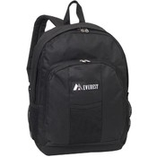 "17"" Backpack Dual Side Mesh Pockets Black Only"