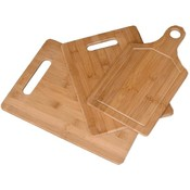 Set of Three Bamboo Cutting Boards