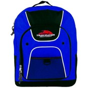16 Inch Backpack, Blue-Case Pack 40 Backpacks Wholesale Bulk