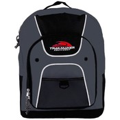 16 Inch Backpack - Charcoal Wholesale Bulk
