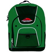 16 Inch Backpack - Green Wholesale Bulk