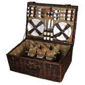 Willow Picnic Basket for 6