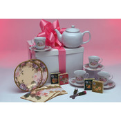 Lady's Tea Party for Four Gift Box