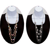 Assorted Bead/Chain Necklaces