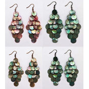 Sea Shell Dangling Earrings