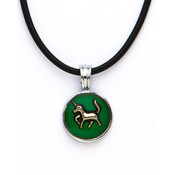 Mood Necklace with Unicorn Charm