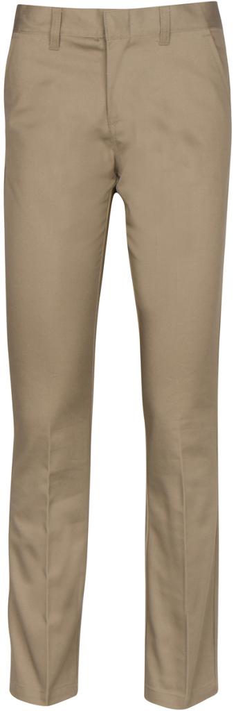 Premium Khaki Girls' UNIFORM Pants - Size 10 (1982204)