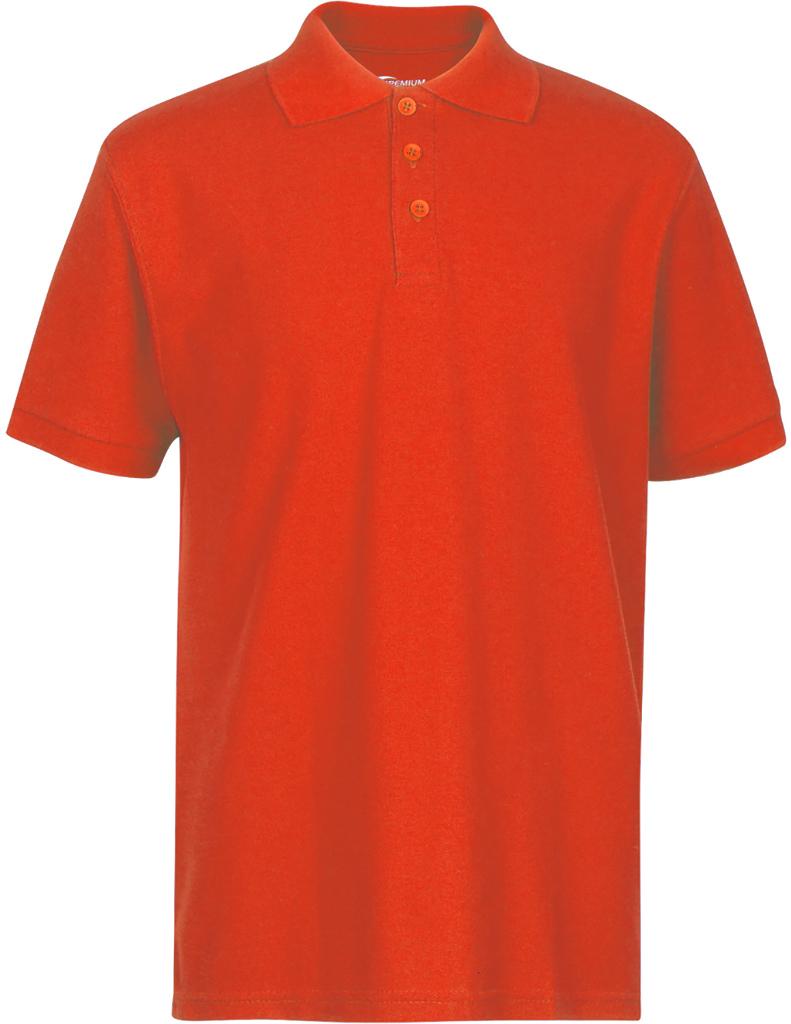Premium Orange Youth Polo Shirt - Size 5/6 (XS) [1982399]