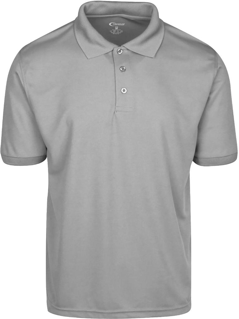 Wholesale premium gray men 39 s dri fit polo shirt size xl for Mens dri fit polo shirts wholesale