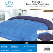 1 Reversible Comforter Queen-Blue/Navy