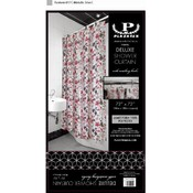 Deluxe Shower Curtain with Matching Hooks-Fall Leaves