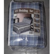 4PC COTTON COMFORTER - TWIN