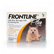 Frontline Plus For Dogs And Puppies 11-22 Lb 6 Pack Flea & T Wholesale Bulk