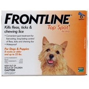 Frontline For Dogs And Puppies 11-22Lb 6 Pack Flea & Tick Wholesale Bulk