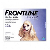 Frontline For Dogs And Puppies 23-44 Lb 3 Pack Fleas & Ticks Wholesale Bulk