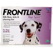 Frontline For Dogs And Puppies 45-88 Lb Flea & Tick Wholesale Bulk