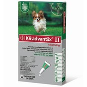 For Dogs Under 10 Lbs. 4 Month Tick & Flea