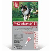 For Dogs 20-55 Lbs. 4 Month Supply Flea & Tick