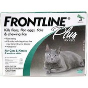 Frontline Plus For All Cats And Kittens 3 Month Fleas & Tick Wholesale Bulk