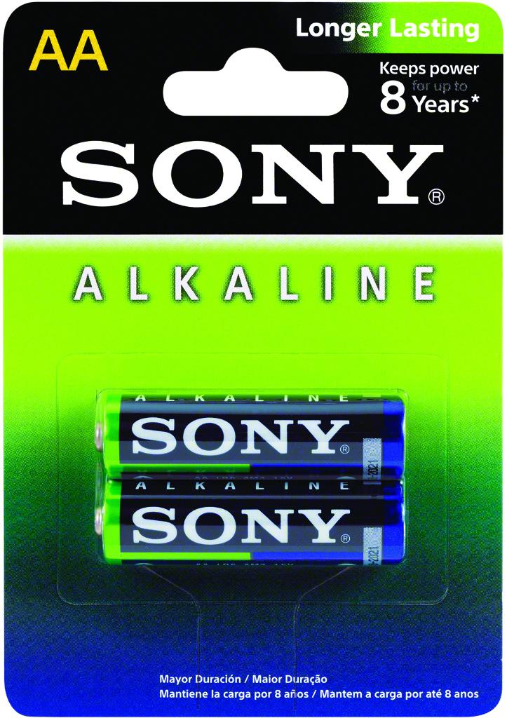 Sony Alkaline AA (2 Pack) (1866296)