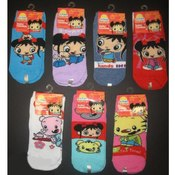 Girls Ni Hao Kai-Lan No Show Socks Size 4-6