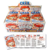 Crab Recipes Playing Cards