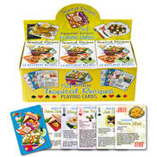 Tropical Food Playing Cards
