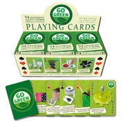Go Green Playing Cards