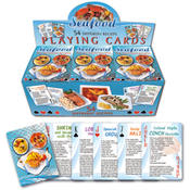 Seafood Recipes Playing Cards