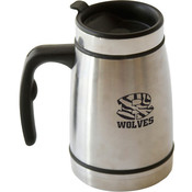Worthy Imprintable Stainless Steel French Press Travel Mug Wholesale Bulk