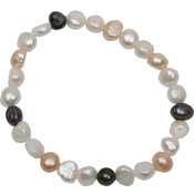 Bret Roberts Imprintable Genuine Baroque Pearl Stretch Bracelet Wholesale Bulk
