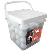 50 Ball Bucket of Recycled Golf Balls