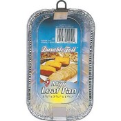 Loaf Pan 1 Lb Aluminum 5 Count
