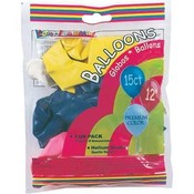 Party Balloons Asst 15Ct