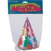 Balloon Party Hats 6Ct