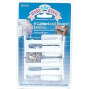 Cabinet/Drawer Latches 4Pk