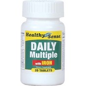 Daily Multiple W/Iron 20 Count