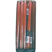 Taper Candle Crimson Red 12In