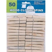 Wood Clothespins 50 Ct.