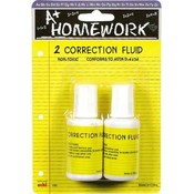 Correction Fluid 2Pk