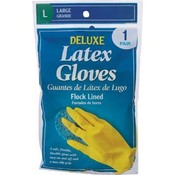 Deluxe Latex Gloves Large 1Pr